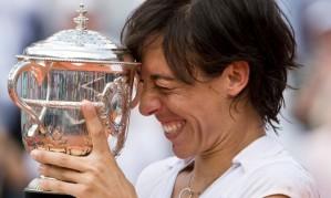 The former Roland Garros Champion Francesca Schiavone